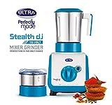 Elgi Ultra Stealth 750-Watt 2 Jar Mixer Grinder, 110 Volts(White/Blue)