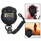 OFKPO Sport Cronometro con LCD Portatile del Cronometro Allarme