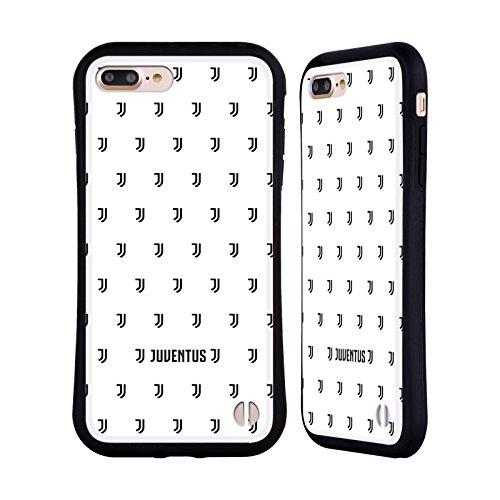 Ufficiale Juventus Football Club Banale Lifestyle 2 Case Ibrida per Apple iPhone 6 / 6s Pattern Logomark 2