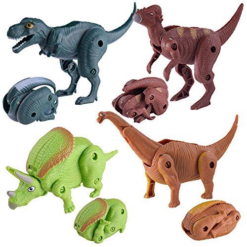 JIUZHOU Spielzeug-Shop Simulation Dinosaurier Spielzeug Modell verformt Dinosaurier Egg Collection für Kinder