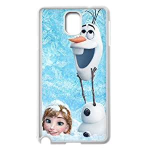 FOR Samsung Galaxy NOTE4 Case Cover -(DXJ PHONE CASE)-Frozen Forever,Snow Queen and Olaf-PATTERN 18