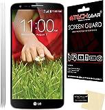 TECHGEAR® LG G2 ULTRA CLEAR LCD Screen Protectors [Pack of 3]