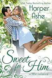 Sweet for Him: A BBW Romance (Sweet Curves Book 2) (English Edition)