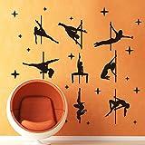 S.Twl.E Il Soggiorno decorazioni a parete sala yoga Dance camera da letto tubo in acciaio a parete cuscinetto sexy sexy danza danza della tubazione in acciaio.
