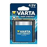 Batterie Varta High Energy 4,5V Flachbatterie 4912