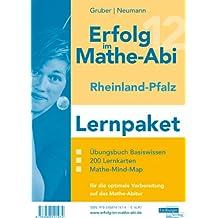 Erfolg im Mathe-Abi 2012 Rheinland-Pfalz Lernpaket: Übungsbuch für das Basiswissen mit Mathe-Mind-Map sowie 200 Lernkarten