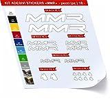 Pegatinas Bicicleta MMR Kit Pegatinas Stickers 18piezas–Elige Subito colore- Bike Cycle...