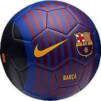 Nike FCB NK PRSTG-FA18 Balon de Futbol, Hombre, Deep Royal Blue/University Gold, 5