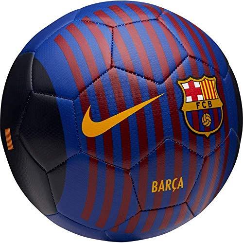3ba0344623 Nike Unisex – Erwachsene FCB NK PRSTG-FA18 Fußballbälle, deep royal Blue/ University