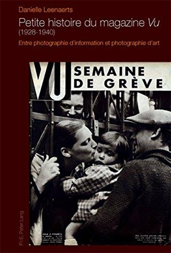 Petite Histoire Du Magazine Vu 1928-1940...