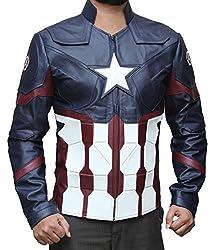 Chris Evans Captain America Civil War Jacket Costume