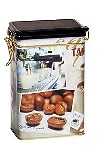 TAKE A BREAK/Coffee TIME Boîte à café/thé/boîte de rangement en étain pour la cuisine