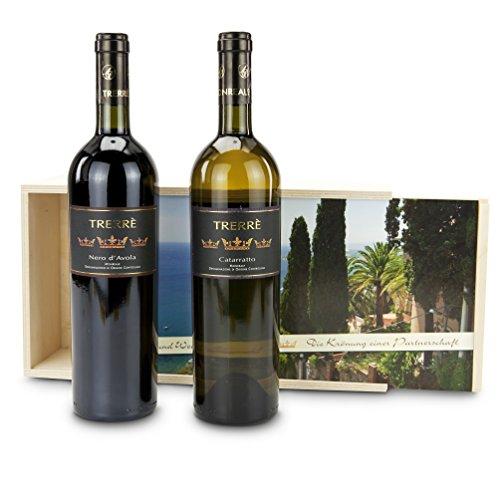 Geschenkset Rot- und Weißwein Monreale