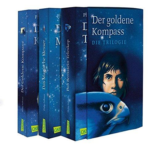 Der Goldene Kompass, Das Magische Messer, Das Bernstein-Teleskop: Alle 3 Bände im Taschenbuchschuber