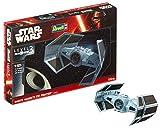 Revell Modellbausatz Star Wars Darth Vader's TIE Fighter im Maßstab 1:121, Level 3, originalgetreue Nachbildung mit vielen Details, einfaches Kleben und Bemalen, 03602