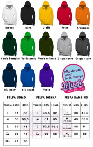 Felpa ALIEN INFIORESCENZA - FILM by Mush Dress Your Style Verde bottiglia