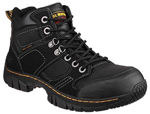 Dr Martens Benham Safety Boots Black Size UK 9 EU 43 Martens Steel Toe Boot