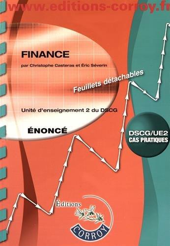 Finance Enonc: UE 2 du DSCG