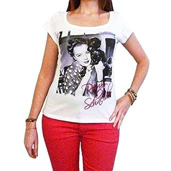 Romy Schneider : T-shirt imprimŽ cŽlŽbritŽ (XS)