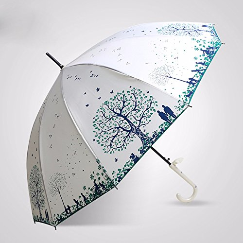 zjm-vintage-long-umbrella-female-windproof-umbrellawhite