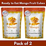 FZYEZY Ready to Eat Freeze Dried Mango Fruit Snack Packs (Pack of 2)