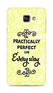 AMEZ practically perfect in every way Back Cover For Samsung Galaxy A7 (2016 EDITION)
