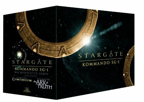 Stargate Kommando SG 1 - Complete Box/Season 1-10 (61 DVDs)