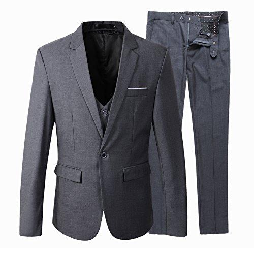 Benibos Men's Slim Fit Suit Blaz...