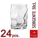 Bormioli Rocco Glasses–Source Collection 30–Water Glass/Tumbler Set–30cl Capacity - transparent