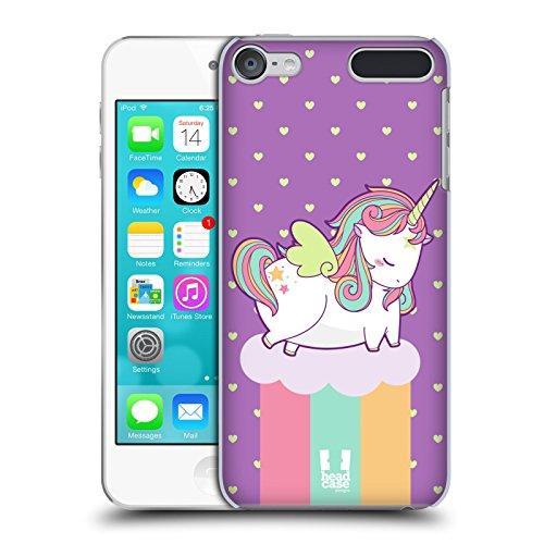 Passend für iPod Touch 5/5./6/6. Hard Snap on Back Cover Rainbow Einhorn Pferd (Ipod-pferd-fälle Generation 5.)