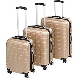 TecTake-800518-Reisekofferset-3-teilig-aus-Leichter-Kunststoff-Hartschale-Leichtgngiges-360-Rollensystem-Diverse-Farben