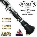 Hanson verstärkte Grenadill Holz Student Klarinette