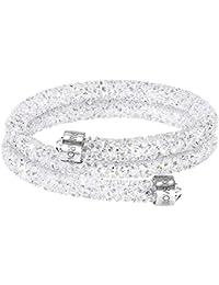 Swarovski Damen-Armreif Swarovski Crystaldust Bracelet Edelstahl Kristall weiß Rundschliff   - 5237754