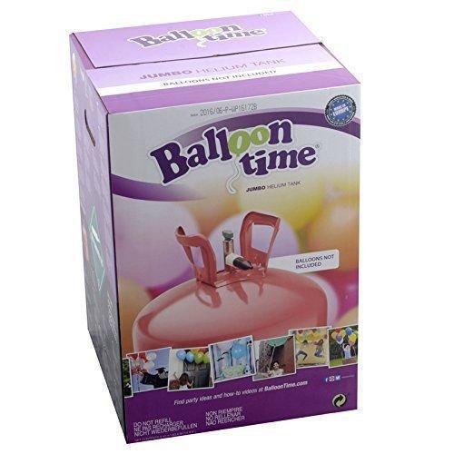Hélium 50 ballons 0,42 m³ (bouteille jetable)