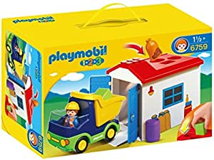 Playmobil 6759 1.2.3 Truck and Garage