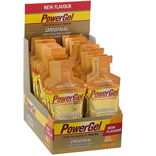 Powerbar 24 Gels Énergétiques Powergel Original Goût Salty Peanut