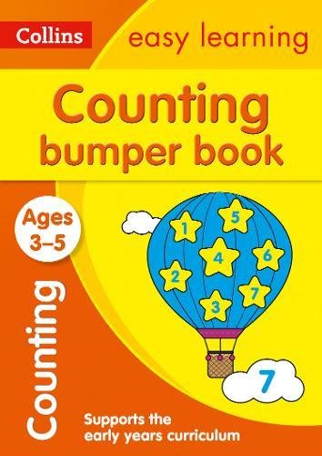 Counting Bumper Book Ages 3-5 (Collins Easy Learning Preschool)