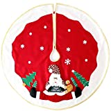 WeRChristmas Christmas Tree Skirt Decoration with 3D Father - Best Reviews Guide