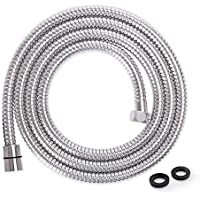 LEEFE 79 inches Stainless Steel Shower Hose - Replacement Handheld Shower Head Hose Anti-Kink (2 M)