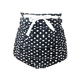Gigileer Rétro Femmes Shorts de Bain Taille haute