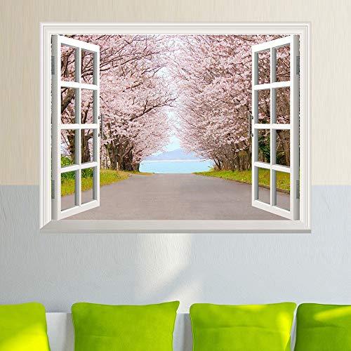 Wand Aufkleber Pvc-Modernen, Minimalistischen Kreative Mode Kirschbaum Dekorativen Verschönerung Schlafzimmer Wohnzimmer Junge Mädchen Kinder Zimmer Fernseher Sofa Hintergrund Wasserdicht Abnehmbare
