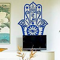 Yirenfeng Mano Creativa Etiqueta De La Pared Muraux Vinyl Fatima Yoga Vibes  Arte Tatuajes De Pared f2608daca45d