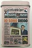 Pastilles Leone�Naples 'Je suis Diego Maradona�Licence Exclusive la gazzetta Dello Sport