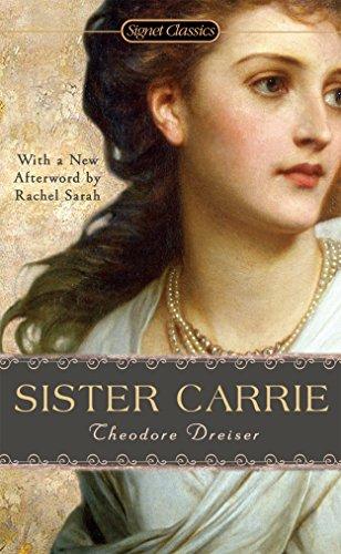Buchseite und Rezensionen zu 'Sister Carrie' von Theodore Dreiser