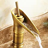 MEI Wasserhähne Antike Kupfer Wasserhahn Kunst Becken zubehör antiken Wasserhahn Antike Bronze weinglas Wasserhahn Wasserhähne (Größe : B)