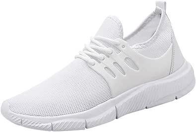 Oyedens Scarpe da Ginnastica Uomo Sneaker Uomo Scarpe da Running Scarpe Sportive Lightweight Mesh Breathable Lace-Up Woven Running Shoes Scarpe Uomo Sportive Sneaker Traspirante 2019 Nuovo Moda
