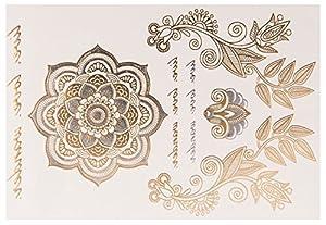 Sheebani Sheet no. 2 de POSH TATTOO     Metallic Tattoo   Flash Tattoos   La nueva moda de Hollywood de SveJona