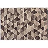 Alfombra dibujo geométrico Varios Tonos de marrón – alfombra moderno Sitap Capri 32381 – 6525