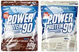 Body Attack Power Protein 90 Beutel 2er Mix Pack (2 x 500 g) Chocolate Nut- Nougat/Vanille, 1er Pack (1 x 1 kg)