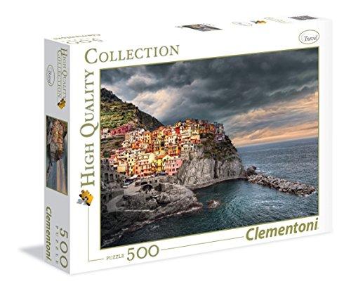 Clementoni - 350216 - Puzzle - Manarola - 500 Pièces